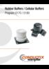 Rubber Buffers / Cellular Buffers Program 0170 / 0180