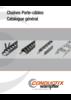 Chaînes Porte-câbles Catalogue général