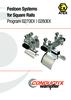 Festoon Systems for Square Rails Programs 0270 | 0280 ATEX