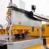 portiques électrifiés sur pneumatiques