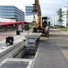 Mise en place d'un 60 kW-module de charge dans un 120 kW arrêt de bus