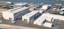 Conductix-Wampfler supplies power and data transmission equipment for 15 new gantry cranes at the Osborne Shipyard in Australia