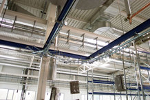 Overhead monorail system