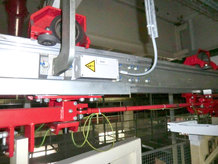 Electrified Monorail System for door transportation [RENAULT plant, Scenic car model]