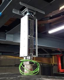 Energy- and Data Transfer for revolving stage   Slip Ring Assembly Program CER70