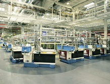 Automated Guided Vehicles in a Gearbox assembly
